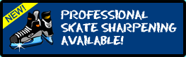 Skate Sharpening Available